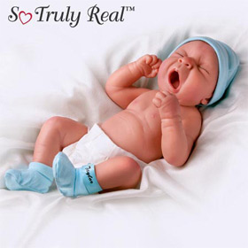Dolls-So Tired Is Little Taylor- Lifelike Vinyl Doll
