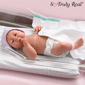 Dolls-Collectible Lifelike Newborn: So Truly Real(TM) Sweet Sweet Baby
