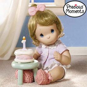 Precious Moments My First Birthday Doll