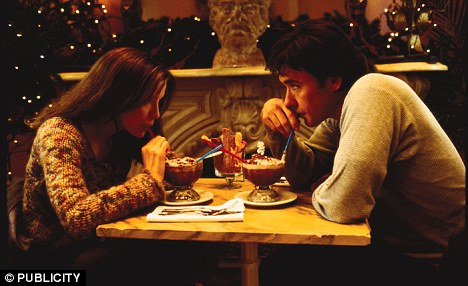 Aphrodisiac: In the movie, Serendipity, Kate Beckinsale's character and John Cusack's fall in love over chocolate desserts