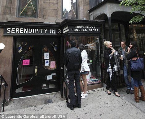 Hotspot: Serendipity was a favourite among celebrities like Marilyn Monroe and Jackie Kennedy and later featured in a Kate Beckinsale rom-com