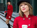 Singer Taylor Swift, wearing a red riding jacket and knee-length boots, leaves her apartment on January 17, 2015 in New York City.\n\nPictured: Taylor Swift\nRef: SPL929986  170115  \nPicture by: Christopher Peterson/Splash News\n\nSplash News and Pictures\nLos Angeles: 310-821-2666\nNew York: 212-619-2666\nLondon: 870-934-2666\nphotodesk@splashnews.com\n