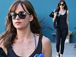 16 Jan 2015 - WEST HOLLYWOOD - USA  DAKOTA JOHNSON LEAVING PILATES   BYLINE MUST READ : XPOSUREPHOTOS.COM  ***UK CLIENTS - PICTURES CONTAINING CHILDREN PLEASE PIXELATE FACE PRIOR TO PUBLICATION ***  **UK CLIENTS MUST CALL PRIOR TO TV OR ONLINE USAGE PLEASE TELEPHONE  44 208 344 2007 ***