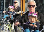 Venice, CA - Pink takes her daughter Willow Sage Hart for a mid day cruise through Venice, California. The girls picked up their to-go lunch together and rode it home to eat. Pink peddled her little cutie as Willow enjoyed the scenery.\n  \nAKM-GSI          January  16, 2015\nTo License These Photos, Please Contact :\nSteve Ginsburg\n(310) 505-8447\n(323) 423-9397\nsteve@akmgsi.com\nsales@akmgsi.com\nor\nMaria Buda\n(917) 242-1505\nmbuda@akmgsi.com\nginsburgspalyinc@gmail.com