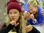 """` ****Ruckas Videograbs****  (01322) 861777\n*IMPORTANT* Please credit Channel 5 for this picture.\n16/01/15\nCelebrity Big Brother\nDAY 10\nSEEN HERE: (in scenes shown on Big Brother's Bit On the Side) Alicia Douvall and Katie Hopkins have an argument after Alicia confronts Katie about calling her names. Alicia didn't like Katie calling her """"thick"""", but rather than apologise, Katie said """"You're really slow"""" and couldn't believe that Alicia didn't know what HRH stood for, yesterday\nGrabs from overnight in the CBB house\nOffice  (UK)  : 01322 861777\nMobile (UK)  : 07742 164 106\n**IMPORTANT - PLEASE READ** The video grabs supplied by Ruckas Pictures always remain the copyright of the programme makers, we provide a service to purely capture and supply the images to the client, securing the copyright of the images will always remain the responsibility of the publisher at all times.\nStandard terms, conditions & minimum fees apply to our videograbs unless varied by agreement prior to pu"""