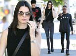 Picture Shows: Kendall Jenner  January 17, 2015\n \n Reality star Kendall Jenner out shopping with friends in West Hollywood, California. Kendall stated in a recent interviews that she grew up too fast, saying, 'I just turned 19 a couple weeks ago, and I'm scared to be 20'.\n \n Exclusive All Rounder\n UK RIGHTS ONLY \n Pictures by : FameFlynet UK © 2015\n Tel : +44 (0)20 3551 5049\n Email : info@fameflynet.uk.com