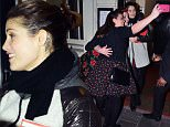 Picture Shows: Gemma Arterton  January 17, 2015\n \n Actress Gemma Arterton spotted leaving Adelphi Theatre in London, UK. Gemma was all smiles as she stopped to meet her fans and take pictures with them.\n \n Non Exclusive\n WORLDWIDE RIGHTS \n \n Pictures by : FameFlynet UK © 2015\n Tel : +44 (0)20 3551 5049\n Email : info@fameflynet.uk.com