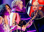 ****Ruckas Videograbs****  (01322) 861777\n*IMPORTANT* Please credit BBCfor this picture.\n17/01/15\nThe Voice\nGrabs from the show tonight\nOffice  (UK)  : 01322 861777\nMobile (UK)  : 07742 164 106\n**IMPORTANT - PLEASE READ** The video grabs supplied by Ruckas Pictures always remain the copyright of the programme makers, we provide a service to purely capture and supply the images to the client, securing the copyright of the images will always remain the responsibility of the publisher at all times.\nStandard terms, conditions & minimum fees apply to our videograbs unless varied by agreement prior to publication.