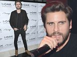 LAS VEGAS, NV - JANUARY 17:  Scott Disick attends 1 OAK Nightclub at the Mirage on January 17, 2015 in Las Vegas, Nevada.  (Photo by Denise Truscello/WireImage)