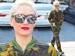 Gwen Stefani goes to her acupuncture appointment dressed in army fatigue in Los Angeles, CA.\n\nPictured: Gwen Stefani\nRef: SPL928705  190115  \nPicture by: Splash News\n\nSplash News and Pictures\nLos Angeles: 310-821-2666\nNew York: 212-619-2666\nLondon: 870-934-2666\nphotodesk@splashnews.com\n