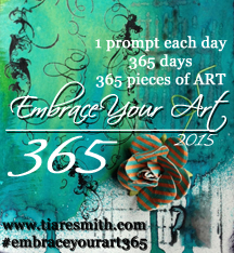 Embrace Your Art 365 Button