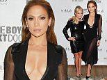 EXCLUSIVE ALL ROUND. Not included in Subscription service. Minimum Web Fee GBP 40  Mandatory Credit: Photo by Startraks Photo/REX (4379300n)  Kristin Chenoweth and Jennifer Lopez  'The Boy Next Door' Special Fan Screening, New York, America - 20 Jan 2015