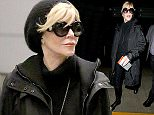 """Los Angeles, CA - Jane Fonda arrives at LAX after her trip to Maryland where she made an appearance at the Weinberg Center for the Arts for a speaking engagement on Friday.  The """"Grace and Frankie"""" star told the audience that she made a """"huge mistake"""" and expressed her regret for taking a photo sitting on a North Vietnamese anti-aircraft battery with a helmet on in 1972.  Jane stated, """"It hurts me and it will to my grave that I made a huge, huge mistake that made a lot of people think I was against the soldiers"""".  Jane kept warm and tried to keep a low profile in an all black outfit along with a beanie and a pair of sunglasses.   AKM-GSI       January 20, 2015     To License These Photos, Please Contact : Steve Ginsburg (310) 505-8447 (323) 423-9397 steve@akmgsi.com sales@akmgsi.com or Maria Buda (917) 242-1505 mbuda@akmgsi.com ginsburgspalyinc@gmail.com"""