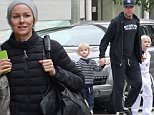 Mandatory Credit: Photo by Most Wanted/REX (4379286a)\n Liev Schreiber with sons Sasha and Samuel\n Liev Schreiber out and about in Brentwood, California, America - 20 Jan 2015\n Liev Schreiber seen picking up his two boys Sasha and Samuel from karate class\n