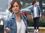 Picture Shows: Minka Kelly  January 20, 2015    'Away And Back' actress Minka Kelly stops by an office in West Hollywood, California. Despite rumors about her rekindling her romance with Chris Evans, those came out as false as Chris was spotted out for lunch with a mystery woman earlier today.     Non Exclusive  UK RIGHTS ONLY    Pictures by : FameFlynet UK    2015  Tel : +44 (0)20 3551 5049  Email : info@fameflynet.uk.com