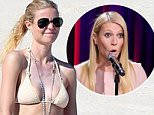 Exclusive... 51629429 NO WEB USE - 'Mortdecai' actress Gwyneth Paltrow looks hot, happy and healthy in Cabo San Lucas, Mexico on January 17, 2015. The sexy and single 42 year old flaunted her stylish bikini and body chain necklace while hanging with her socialite gal pal Crystal Lourd, who is celebrating her birthday with friends at the beachside resort. NO WEB USE FameFlynet, Inc - Beverly Hills, CA, USA - +1 (818) 307-4813 RESTRICTIONS APPLY: NO WEBSITE USE