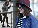 Picture Shows: Selena Gomez  January 17, 2015\n \n Make-up free actress Selena Gomez arrives for a make-up test for the upcoming movie 'The Revised Fundamentals of Caregiving' in Atlanta, Georgia. \n \n Exclusive All Rounder\n UK Rights Only\n Pictures by : FameFlynet UK © 2015\n Tel : +44 (0)20 3551 5049\n Email : info@fameflynet.uk.com