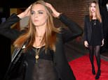 Mandatory Credit: Photo by David Fisher/REX (4379031aa)  Cara Delevingne  YSL Loves Your Lips party, London, Britain - 20 Jan 2015  Party to celebrate the re-launch of Yves Saint Laurent Beaut     Luxurious Mascara