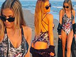 EXCLUSIVE: The former Baywatch beauty showed off her cheeky side as she posed for these playful snaps in a sizzling sunset photoshoot. \n\nPictured: Carmen Electra in Uruguay\nRef: SPL932868  220115   EXCLUSIVE\nPicture by: Splash News\n\nSplash News and Pictures\nLos Angeles: 310-821-2666\nNew York: 212-619-2666\nLondon: 870-934-2666\nphotodesk@splashnews.com\n