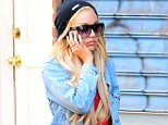 Mandatory Credit: Photo by REX (4168124i).. Amanda Bynes.. Amanda Bynes out and about, New York, America - 06 Oct 2014.. ..