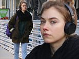 Picture Shows: Imogen Poots  January 20, 2015\n \n Actress Imogen Poots seen jamming out to music on her headphones while out for breakfast in Vancouver, Canada. \n \n Imogen is in town to film the upcoming TV movie 'Roadies'. \n \n Exclusive - All Round\n UK RIGHTS ONLY\n \n Pictures by : FameFlynet UK © 2015\n Tel : +44 (0)20 3551 5049\n Email : info@fameflynet.uk.com