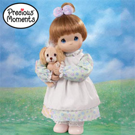 Precious Moments God Loveth A Cheerful Giver Doll