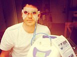 Kieswetter in a picture posted on his Twitter account shortly after surgery last year