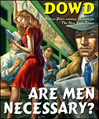 The cover of Maureen Dowd's 'Are Men Necessary?'