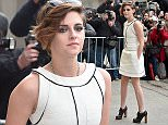 PARIS, FRANCE - JANUARY 27:  Kristen Stewart attends the Chanel show as part of Paris Fashion Week Haute Couture Spring/Summer 2015 on January 27, 2015 in Paris, France.  (Photo by Jacopo Raule/GC Images)