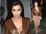 Kim Kardashian leaves dinner at Craig's in Los Angeles.  Pictured: Kim Kardashian Ref: SPL936741  260115   Picture by: All Access Photo / Splash News  Splash News and Pictures Los Angeles: 310-821-2666 New York: 212-619-2666 London: 870-934-2666 photodesk@splashnews.com