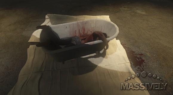It's never good to wake up in a tub in TSW, but even worse to not wake up.