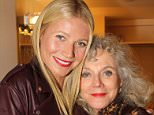 """NEW YORK, NY - OCTOBER 02:  (EXCLUSIVE COVERAGE) Gwyneth Paltrow and mother Blythe Danner pose backstage during the opening night of """"The Country House"""" on Broadway at Manhattan Theater Club at The Samuel J. Friedman Theater on October 2, 2014 in New York City.  (Photo by Bruce Glikas/FilmMagic) ***BESTPIX***"""