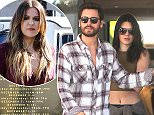 Mandatory Credit: Photo by Buzz Foto/REX (4327425a)  Kendall Jenner and Scott Disick shopping at Barney's New York in Beverly Hills  Kendall Jenner and Scott Disick out and about in Los Angeles, America - 23 Dec 2014
