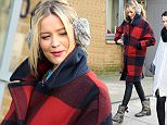 Mandatory Credit: Photo by Beretta/Sims/REX (4393625i)  Laura Whitmore  Laura Whitmore out and about in London, Britain - 29 Jan 2015