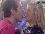 """****Ruckas Videograbs****  (01322) 861777 *IMPORTANT* Please credit Channel 5 for this picture. 28/01/15 Celebrity Big Brother DAY 22 SEEN HERE: After Perez Hilton returned to the house, Perez and Katie Hopkins square up to each other after Katie H took exception to Perez insulting """"her"""" British public. Perez taunted her by attemnpting to lick and kiss her and eventually ended up chasing her. He lightened the tense moment by suggesting that they have a truce for the night, but Katie told him """"but I hate you"""" late last night Grabs from overnight in the CBB house Office  (UK)  : 01322 861777 Mobile (UK)  : 07742 164 106 **IMPORTANT - PLEASE READ** The video grabs supplied by Ruckas Pictures always remain the copyright of the programme makers, we provide a service to purely capture and supply the images to the client, securing the copyright of the images will always remain the responsibility of the publisher at all times. Standard terms, conditions & minimum fees apply to our videograbs"""