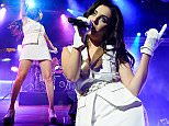 LONDON, UNITED KINGDOM - JANUARY 28: Charli XCX performs on stage on Day 1 of MTV Brand New 2015 at Islington Assembly Hall on January 28, 2015 in London, United Kingdom. (Photo by Joseph Okpako/Redferns via Getty Images)