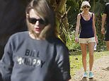 EXCLUSIVE: Taylor Swift goes for a hike while on vacation with friends in Hawaii   Pictured: Taylor Swift Ref: SPL933529  260115   EXCLUSIVE Picture by: Splash News  Splash News and Pictures Los Angeles: 310-821-2666 New York: 212-619-2666 London: 870-934-2666 photodesk@splashnews.com