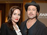 BEVERLY HILLS, CA - JANUARY 09:  Actors Angelina Jolie (L) and Brad Pitt attend the 15th Annual AFI Awards Luncheon at Four Seasons Hotel Los Angeles at Beverly Hills on January 9, 2015 in Beverly Hills, California.  (Photo by Michael Kovac/Getty Images for AFI)