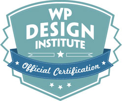 The official WordPress training certification seal.