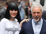 Mandatory Credit: Photo by Beretta/Sims/REX (1711434u).. Jessie J and Tom Jones.. Jessie J out and about, London, Britain - 10 May 2012.. Jessie J and Tom Jones leaving the 100 Club..
