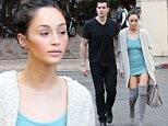 Picture Shows: Cara Santana  January 30, 2015\n \n Happy couple Cara Santana and Jesse Metcalfe enjoy lunch together at Sugar Fish in Beverly Hills, California. Cara looked chic and casual in a fluffy cardigan over a blue mini dress and grey thigh high boots, while Jesse kept it casual in a black t-shirt, black pants, and black shoes.\n \n Non Exclusive\n UK RIGHTS ONLY\n \n Pictures by : FameFlynet UK © 2015\n Tel : +44 (0)20 3551 5049\n Email : info@fameflynet.uk.com