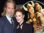 """NEW YORK, NY - JANUARY 30:  Actor Jeff Bridges and actress Julianne Moore attend """"Seventh Son"""" special screening at Crosby Street Hotel on January 30, 2015 in New York City.  (Photo by Dimitrios Kambouris/Getty Images)"""