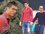 30.JAN.2015 - MADRID - SPAIN\n**AVAILABLE FOR UK USE ONLY**\nWORLD FOOTBALLER OF THE YEAR PORTUGUESE STRIKER CRISTIANO RONALDO PICKS HIS SON UP FROM SCHOOL IN MADRID.\nCRISTIANO HAS RECENTLY BROKEN UP WITH HIS GIRLFRIEND IRINA SHAYK \nBYLINE MUST READ: XPOSUREPHOTOS.COM\n***UK CLIENTS - PICTURES CONTAINING CHILDREN PLEASE PIXELATE FACE PRIOR TO PUBLICATION ***\n*UK CLIENTS MUST CALL PRIOR TO TV OR ONLINE USAGE PLEASE TELEPHONE 0208 344 2007*