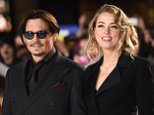 19.JANUARY.2015 - LONDON - UK LEADING ACTOR JOHNNY DEPP AND HIS FIANCEE ACTRESS AMBER HEARD CELEBRITIES ATTEND THE UK FILM PREMIERE OF MORTDECAI HELD AT THE EMPIRE CINEMA LEICESTER SQUARE IN LONDON. BYLINE MUST READ : TIMMS/XPOSUREPHOTOS.COM ***UK CLIENTS - PICTURES CONTAINING CHILDREN PLEASE PIXELATE FACE PRIOR TO PUBLICATION *** **UK CLIENTS MUST CALL PRIOR TO TV OR ONLINE USAGE PLEASE TELEPHONE   44 208 344 2007 **