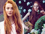 Sophie Turner, who stars as Sansa Stark in Game of Thrones, reveals just what it   s like to live and breathe the character in the spring issue of Town & Country magazine.   Please see the release below for more info and quotes. For hi-res images of Sophie, please sign the attached picture agreement.   Please note: Embargoed Until 00:01 Friday 30 January
