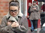 January 29, 2015: January 29, 2015  Keira Knightley goes to lunch with her Mother but gets wet walking home without an umbrella  Non Exclusive Worldwide Rights Pictures by : FameFlynet UK    2015 Tel : +44 (0)20 3551 5049 Email : info@fameflynet.uk.com