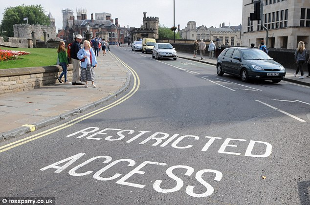 Council leaders in York restricted access to the busy bridge in during an ill-fated traffic experiment