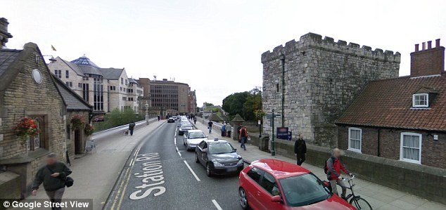 Before the scheme was launched, the bridge, pictured, was heavily congested throughout the day