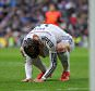 MADRID, SPAIN - JANUARY 31:  Gareth Bale of Real Madrid reacts after failing to score a goal during the La Liga match between Real Madrid CF and Real Sociedad de Futbol at Estadio Santiago Bernabeu on January 31, 2015 in Madrid, Spain.  (Photo by Denis Doyle/Getty Images)