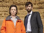 KUDOS FILM AND TELEVISION PRESENTS BROADCHURCH SERIES 2 Images are under strict Embargo not to be used before the 18th December 2014. PICTURED : DAVID TENNANT as D.I Alec Hardy and OLIVIA COLMAN as D.S Ellie Miller. Copyright ITV/Kudos.